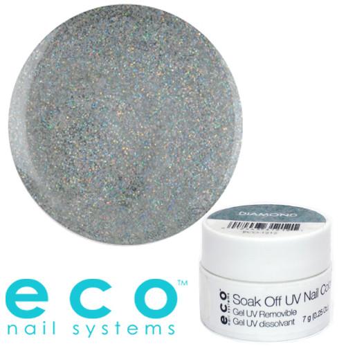 Eco Nail Systems Diamond Eco Soak Off geelilakka 7 g
