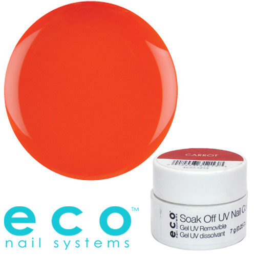 Eco Nail Systems Carrot Eco Soak Off geelilakka 7 g
