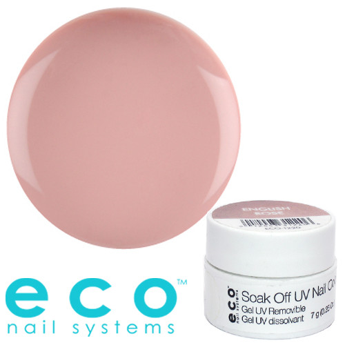 Eco Nail Systems English Rose Eco Soak Off geelilakka 7 g