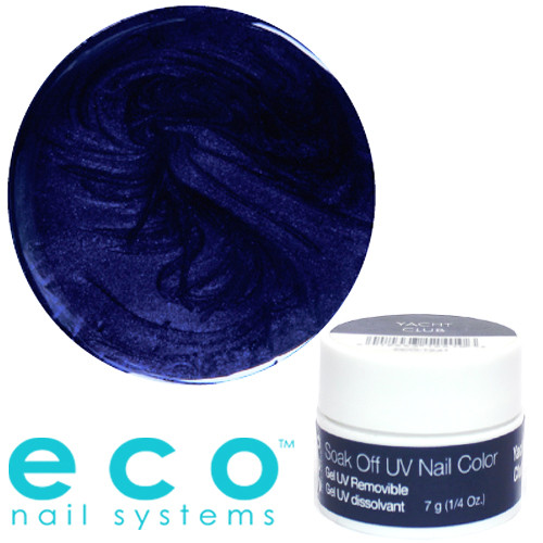 Eco Nail Systems Yacht Club Eco Soak Off geelilakka 7 g