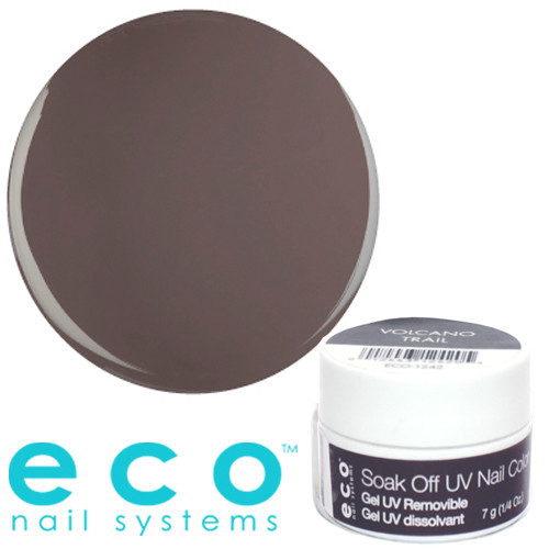 Eco Nail Systems Volcano Trail Eco Soak Off geelilakka 7 g