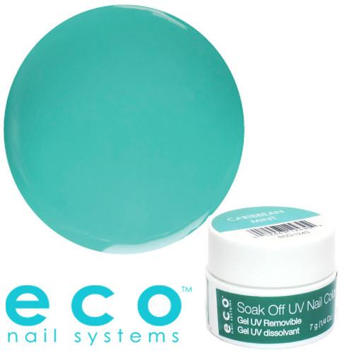 Eco Nail Systems Caribbean Mint Eco Soak Off geelilakka 7 g