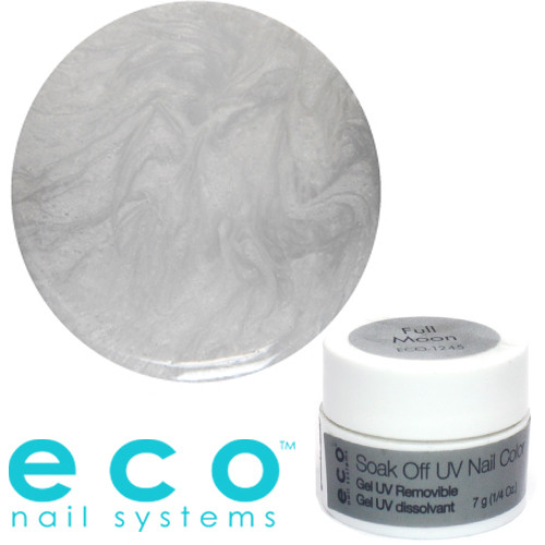Eco Nail Systems Full Moon Eco Soak Off geelilakka 7 g