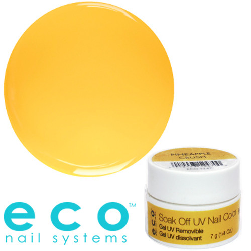 Eco Nail Systems Pineapple Crush Eco Soak Off geelilakka 7 g