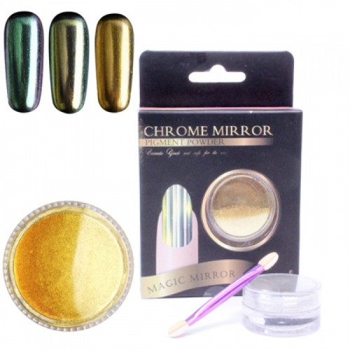Noname Cosmetics Chrome Mirror Peilipuuteri chrome 5 g