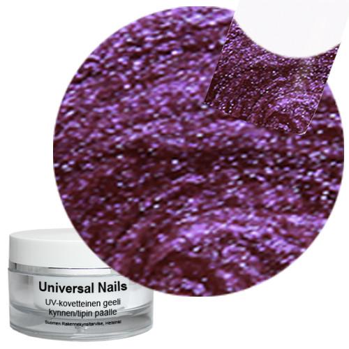 Universal Nails Jäämarja UV glittergeeli 10 g