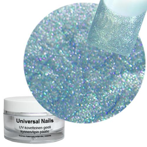 Universal Nails Hopea Helmiäinen UV glittergeeli 10 g