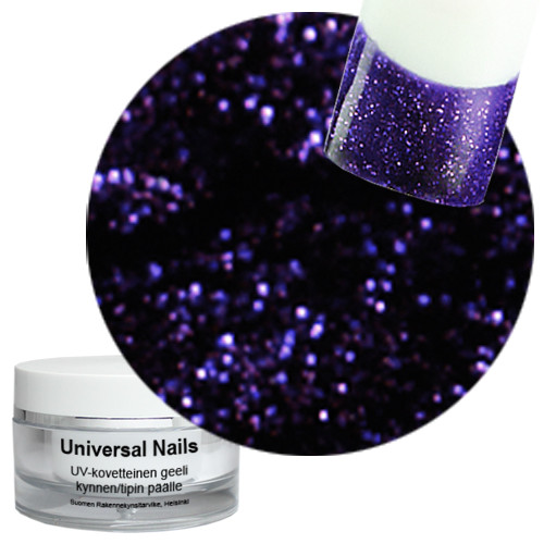 Universal Nails Galaktia UV glittergeeli 10 g