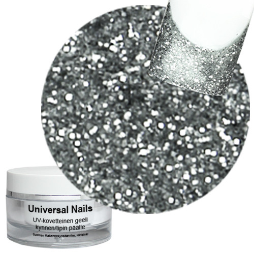 Universal Nails Hopea UV/LED glittergeeli 10 g