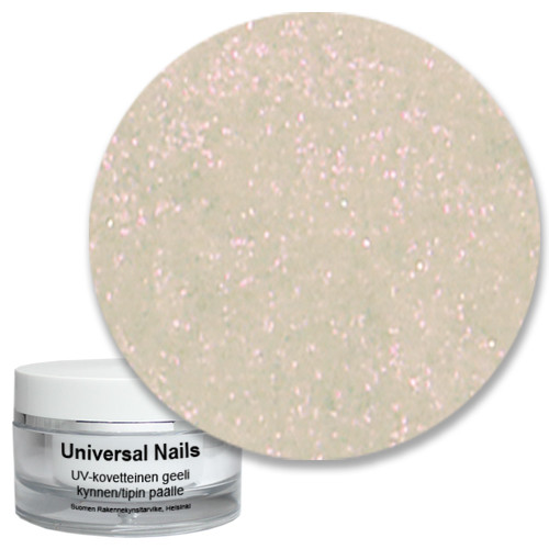 Universal Nails Baby Roosa UV/LED glittergeeli 10 g