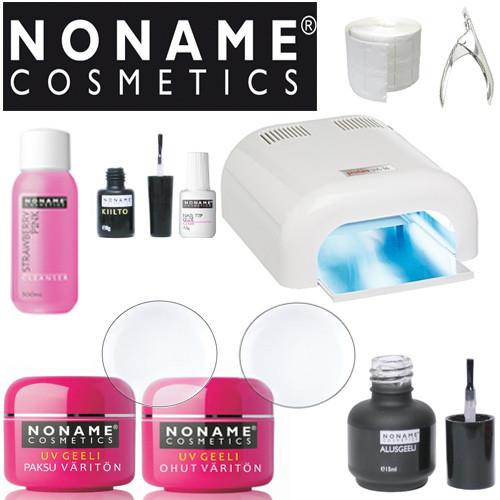 Noname Cosmetics UV-Geeli Aloituspaketti Promed UVL-36 UV-uunilla