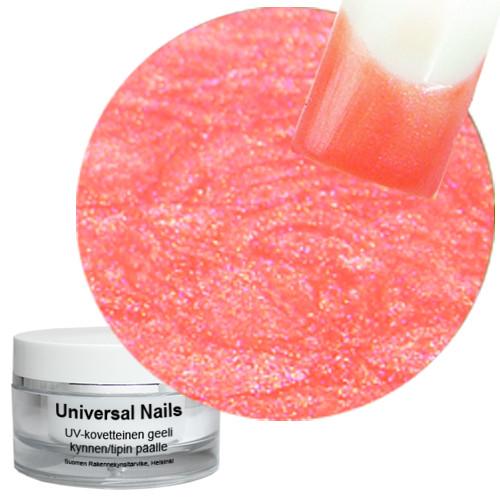Universal Nails Hunaja Karkki UV metalligeeli 10 g