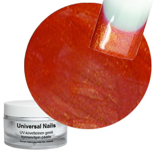 Universal Nails Granaattiomena UV metalligeeli 10 g