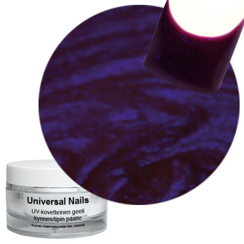 Universal Nails Herukka UV metalligeeli 10 g