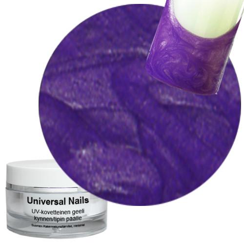 Universal Nails Liila UV metalligeeli 10 g