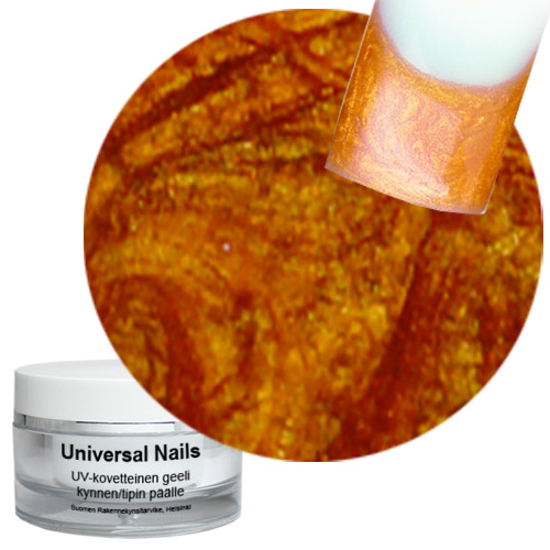 Universal Nails Karamelli UV metalligeeli 10 g