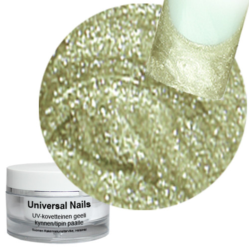 Universal Nails Prosecco UV metalligeeli 10 g