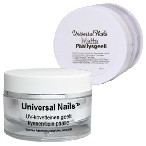 Universal Nails Matta päällysgeeli 30 g