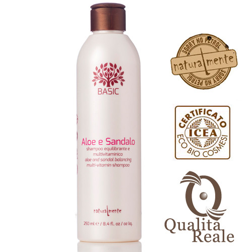 Naturalmente Multivitamin tasapainottava shampoo 250 mL