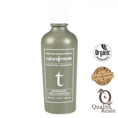 Naturalmente Rosemary & Lavender Purifying syväpuhdistava shampoo 250 mL