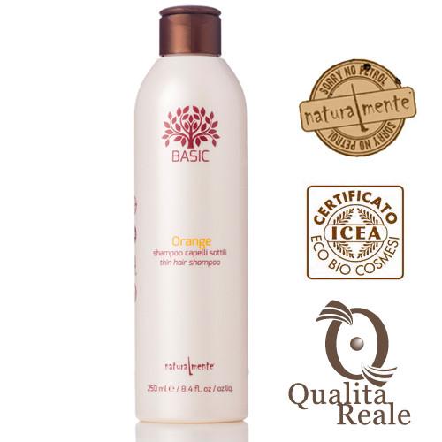 Naturalmente Orange shampoo hennoille hiuksille 250 mL