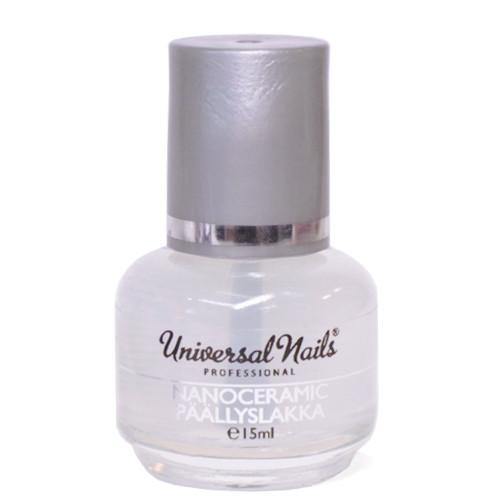 Universal Nails Nanoceramic päällyslakka 15 mL