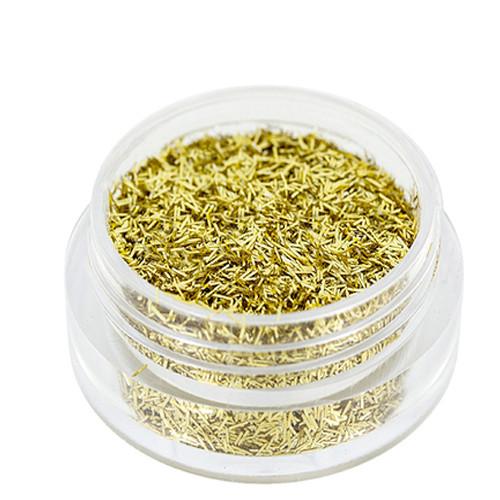 Noname Cosmetics Säkenöivät Kultaiset glittersäikeet 1.5 g