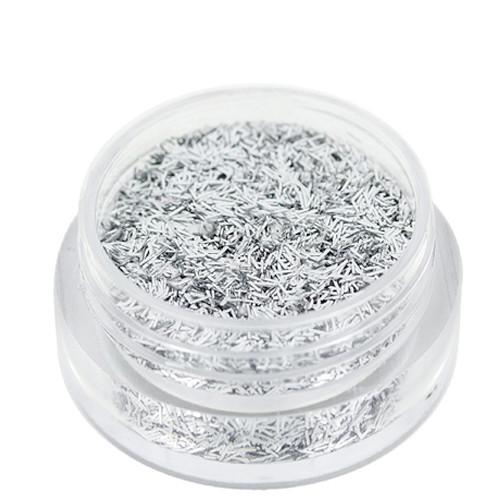 Noname Cosmetics Säkenöivät Hopeiset glittersäikeet 1.5 g