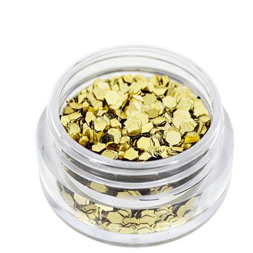 Noname Cosmetics Heksagoni paljetit kulta 1.5 g