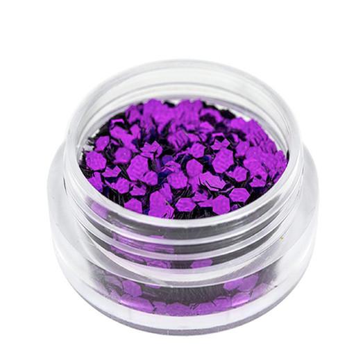 Noname Cosmetics Heksagoni paljetit purppura 1.5 g