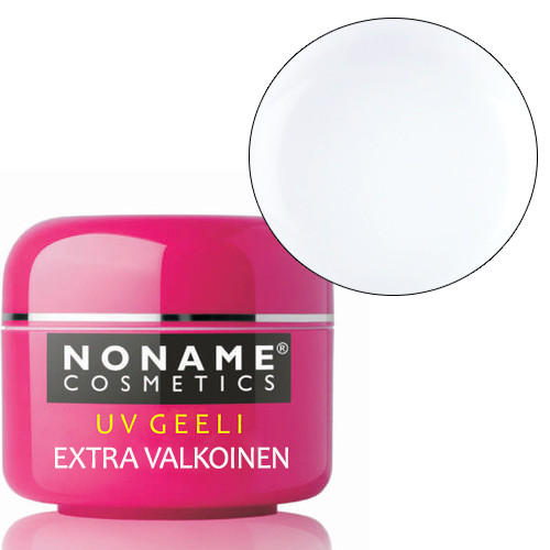 Noname Cosmetics Valkoinen UV-geeli 30 g