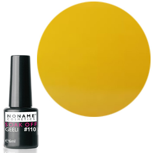 Noname Cosmetics Nro 110 geelilakka 6 mL