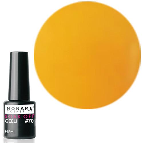Noname Cosmetics Nro 70 geelilakka 6 mL