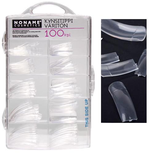 Noname Cosmetics Kirkkaat Kynsitipit 100 kpl