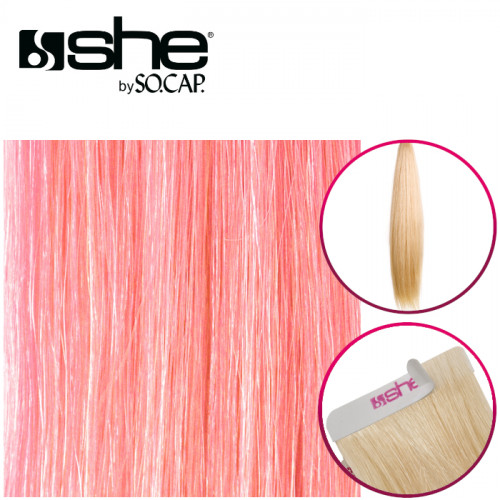 So Cap Suora Teippipidennys Pink 4 kpl 35-40 cm