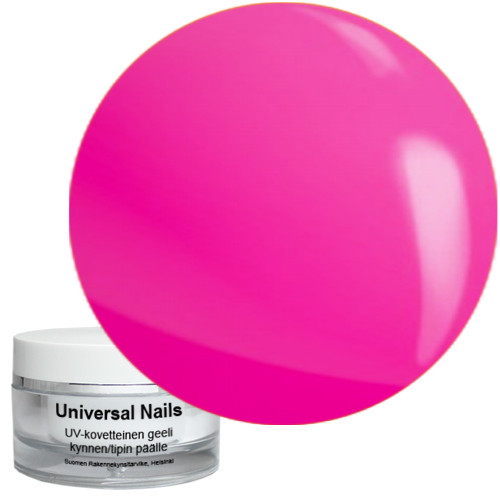 Universal Nails Pinkki UV/LED neongeeli 10 g