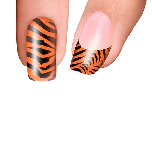 Trendy Nail Wraps Eye of the Tiger Kynsikalvo koko kynsi