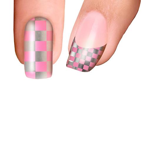 Trendy Nail Wraps Pink Ladies Kynsikalvo kärkikalvo
