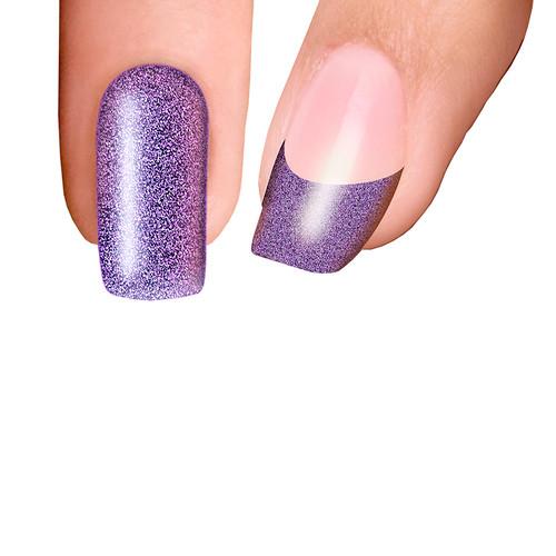 Trendy Nail Wraps Viva Las Vegas Purple Kynsikalvo koko kynsi