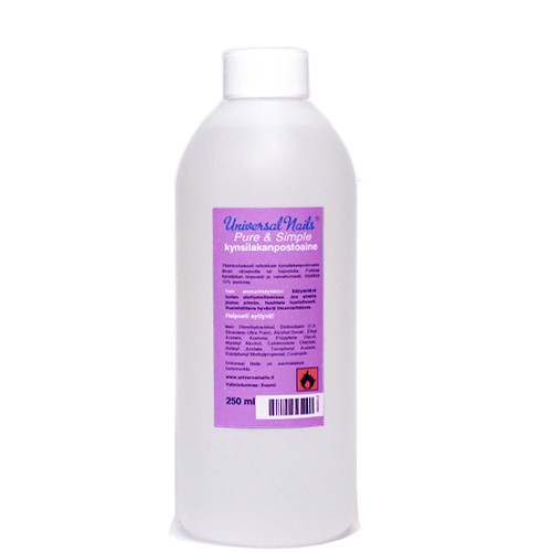 Universal Nails Pure & Simple kynsilakanpoistoaine 250 mL