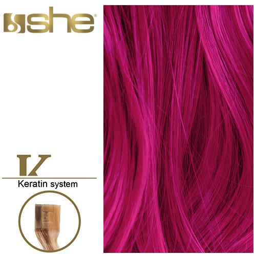 So Cap Suora Sinettihius 10 kpl väri Punertava Violetti 55-60 cm