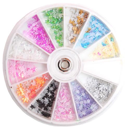 Noname Cosmetics Muovitetut paperikoristeet värikkäät
