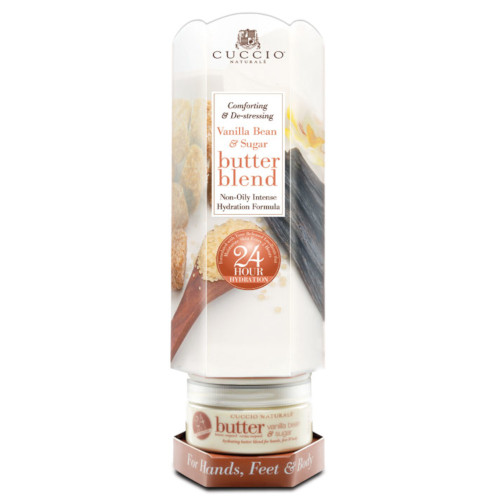 Cuccio Naturalé Butter Blend Tower Vanilla Bean & Sugar kosteusvoide 6 x 226 g