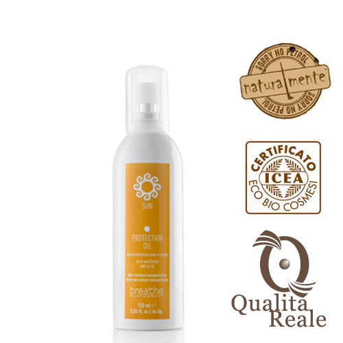 Naturalmente Sun Protection Oil SPF 6-15 aurinkosuojaöljy 150 mL