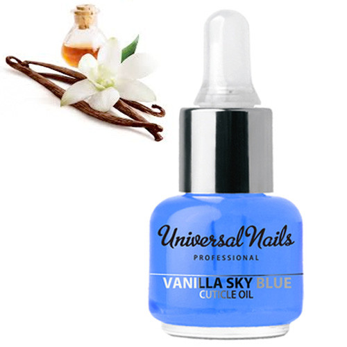 Silcare Vanilja Garden of Colour Kynsinauhaöljy pipetillä 15 mL