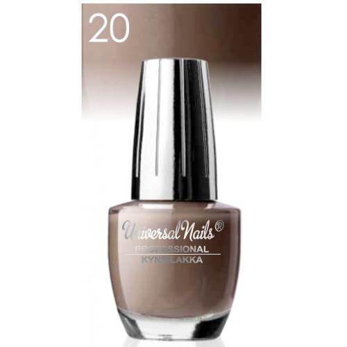 Universal Nails Classic nro 20 kynsilakka  15 mL