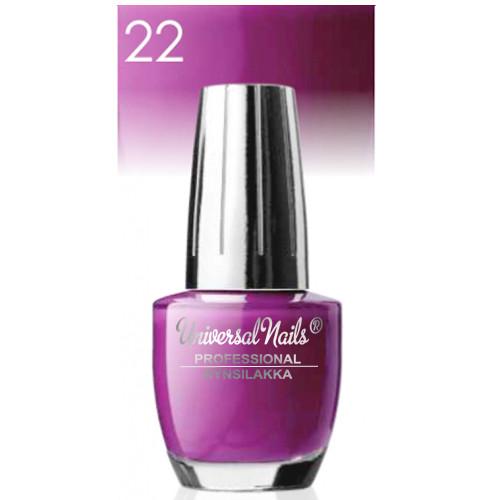 Universal Nails Classic nro 22 kynsilakka  15 mL