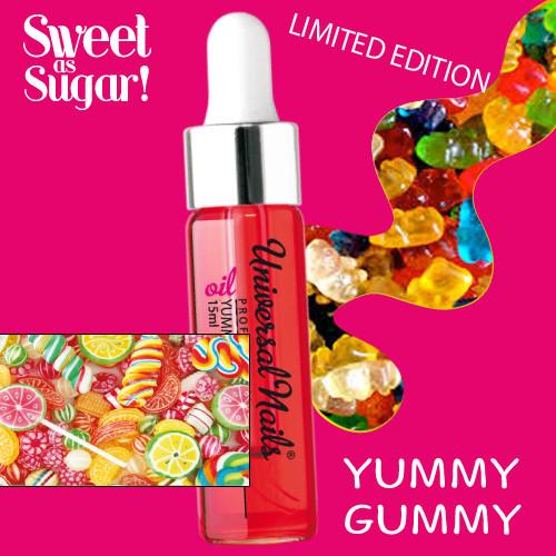 Noname Cosmetics Yummy Gummy Kynsinauhaöljy pipetillä 15 mL