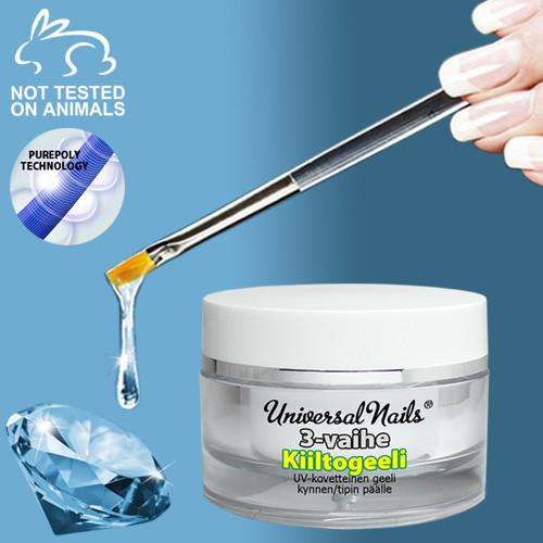 Universal Nails 3-Vaihe kiiltogeeli 10 g
