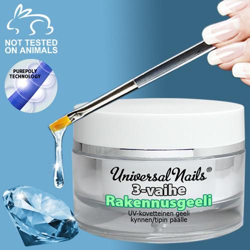 Universal Nails 3-Vaihe rakennusgeeli 30 g